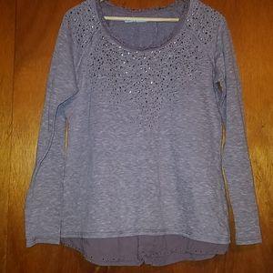 Purple grey Maurice's sweater